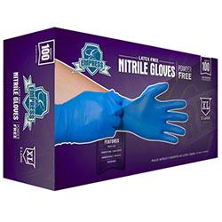 Empress™ Blue Nitrile Powder Free Glove - XL