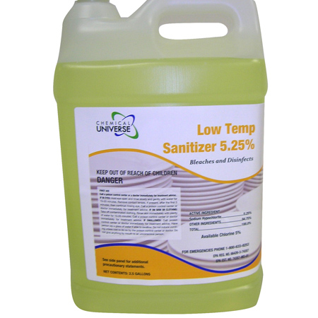 Chemical Universe LTS Liquid Sanitizer - 5 Gal.