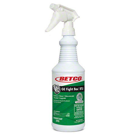 Betco® GE Fight BAC™ RTU Disinfectant - 32 oz.