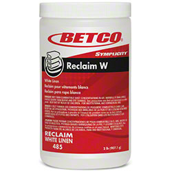Betco® Symplicity™ Reclaim W For White Linen -2 lb. Jar