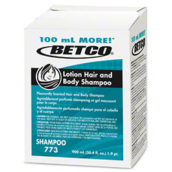 Betco® Lotion Hair & Body Shampoo - 900 mL