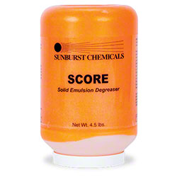 Sunburst Score Solid Emulsion Degreaser - 4.5 lbs.