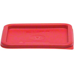 Cambro CamSquares® Lid - Fits 6 & 8 Qt., Winter Rose