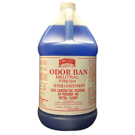 Ascension Odor Ban Neutral Fresh Odor Counteractant - Gal.