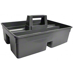 Janico Caddy Box For Janitorial Cart - Black