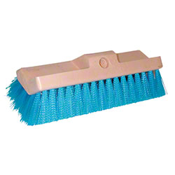 Magnolia Bi-Level Blue Crimped Polypropylene Scrub Brush