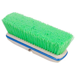 "Magnolia 10"" Green Flagged Nylon Vehicle Wash Brush"