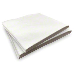 "Air-Laid Linen Like Napkin - 15.5"" x 15.5"", White"