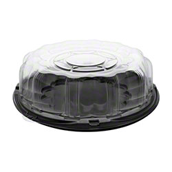 "Pactiv SmartLock® Caterware Tray Fits P9812 - 12"" w/Dome"