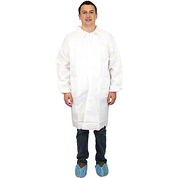 Safety Zone Breathable Barrier Microporous Lab Coats