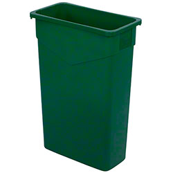 Carlisle Trimline™ Waste Container - 23 Gal., Green