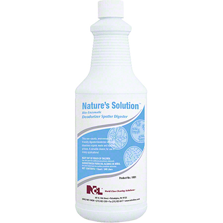 NCL® Nature's Solution Bio-Enzymatic Deod/Spotter - Qt.
