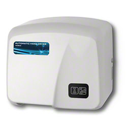 Palmer Hands Free ABS Plastic Hand Dryer - White