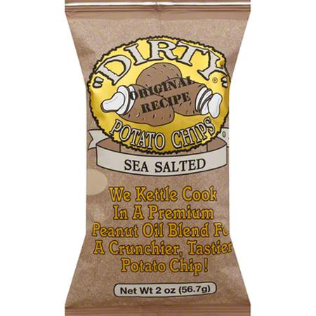 Dirty Sea Salt Kettle Potato Chips - 2 oz.