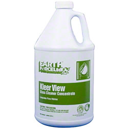 Earth Force® Kleer View Concentrate Glass Cleaner - Gal.