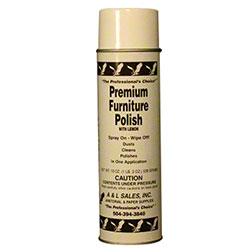 A&L Sales Premium Furniture Polish w/Lemon - 19 oz.