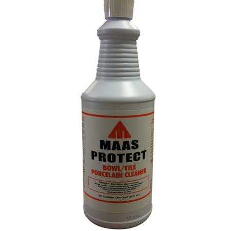 Maas Protect Bowl/Tile Porcelain Cleaner - Qt  | A  G  Maas Company