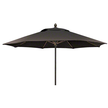 Anova® Lucaya 8' Black Push Up & Pin Umbrella