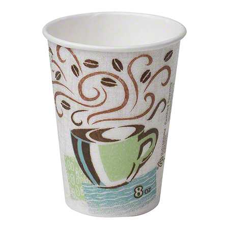 Dixie® PerfecTouch™ Coffee Haze Paper Hot Cup - 8 oz