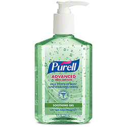 GOJO® Purell® Advanced Hand Sanitizer Soothing Gel - 8 oz.