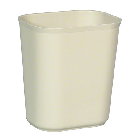 Rubbermaid® Fire Resistant Wastebasket - 14 Qt., Beige