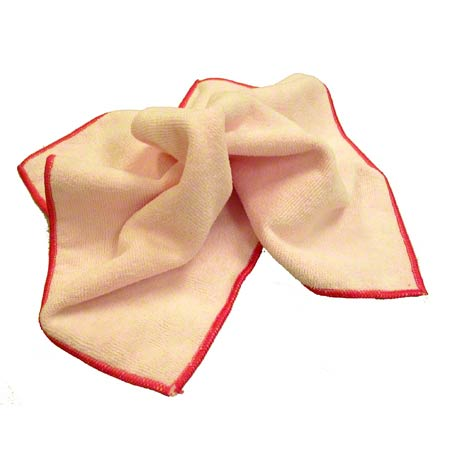 "SSS® NexGen Microfiber Cloth - 12"" x 12"", Pink"