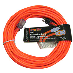 16/3 Orange 50' Extension Cord