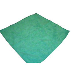 "Monarch SmartChoice™ Microfiber Cloth - 12"" x 12"", Green"