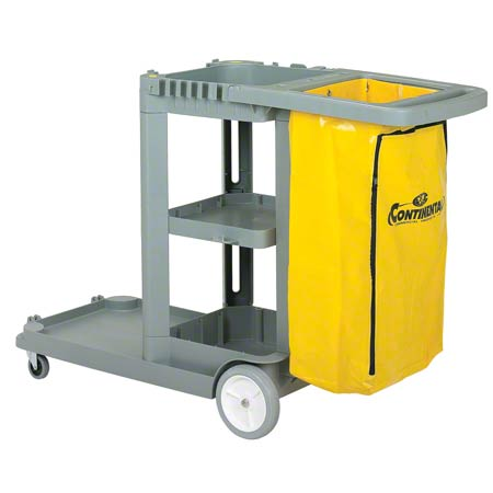 Continental Janitor Cart - Gray