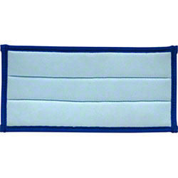 "CPI Microfiber Glass Cleaning Pad - 10"" x 5"", Blue"
