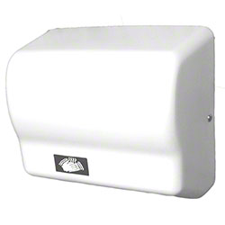 Impact® Touchless Hand Dryer - White Epoxy Steel