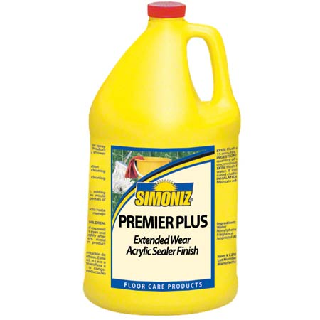 Simoniz® Premier Plus Floor Finish - Gal.