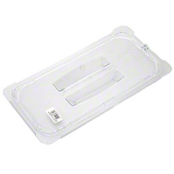 Carlisle StorPlus™ Food Pan Lid For One Third Size, Clear