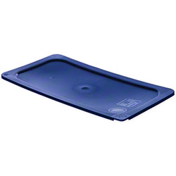 Carlisle Smart Lids™ Food Pan Lid For 1/3 Size -Dark Blue