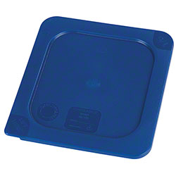 Carlisle Smart Lids™ Food Pan Lid For 1/6 Size -Dark Blue