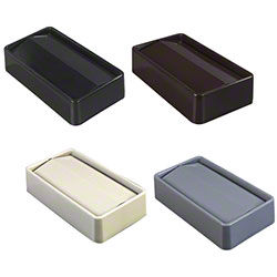 Trimline™ Rectangle Swing Top Waste Container Lids