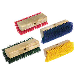 Carlisle Sparta® Spectrum® H-Lo™ Scrub Brush - Yellow
