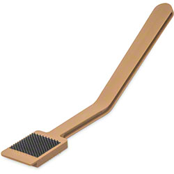 Carlisle Sparta® Meat Slicer Cleaning Tool - Tan
