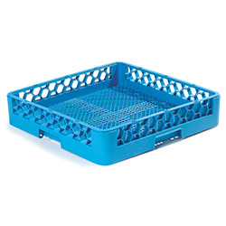 Carlisle Opticlean™ Combination/Flatware Rack - Blue