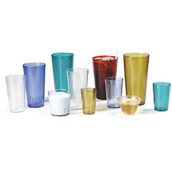 Carlisle Stackable™ Tumbler - 9 oz. Old Fashion, Clear