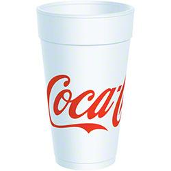 Dart® Coca-Cola Foam Cup - 20 oz.