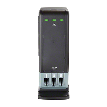 Dixie Ultra® Smartstock® Tri-Tower Cutlery Dispenser - Black