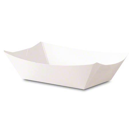 Dixie® Kant Leek® White Food Tray - 3 lb.