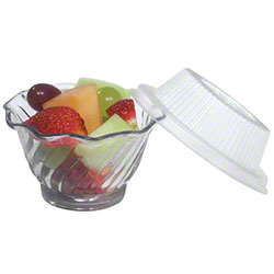 Dinex® Classic™ Dome Lid For DXSWC507 5 oz. Tulip Cup