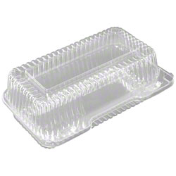 """Durable Duralock Hinged Lid Container -9"""", Hoagie"""