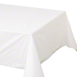 Hoffmaster® 2 Ply Tissue 1 Ply Poly White Tablecover
