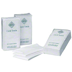 Hoffmaster® Linen-Like® White Packaged Guest Towel