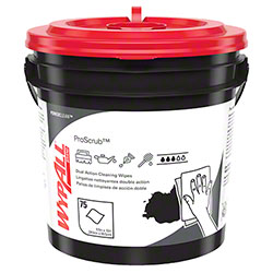 WypAll® Waterless Industrial Cleaning Wipe - 75 ct. Container
