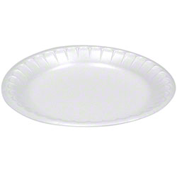 "Pactiv Placesetter® Deluxe No. 9 Dinner Plate-8 7/8"",White"