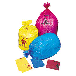 Pitt High Density Isolation Bag - 31 x 43, 17 mic, Yellow